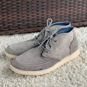 Skechers Status Altone Canvas Chukka Casual Shoes